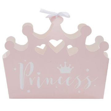 Princess Party Boxes - pack of 5